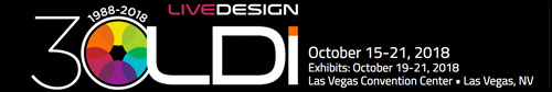 Lycian Stage Lighting at LDI in Las Vegas October 15-21